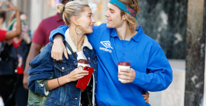 Justin Bieber and Hailey Baldwin Seen Taking A Break Whilst In London At Joe In The Juice